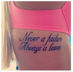 Looking for great tattoo quotes for girls? Find different tattoo quotes about different things and situations to keep you inspired. Pick your style today.