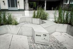 Morgan & Möller - Niezwykła instalacja z betonu architektonicznego na Brave Festival 2015 :. infoArchitekta.pl