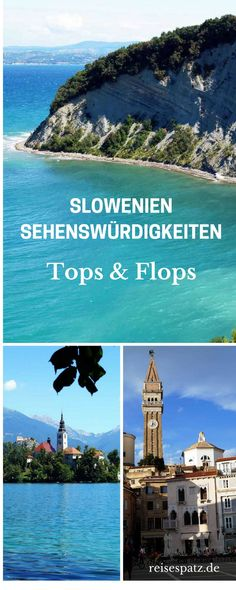 Slovenia Attractions - 3 Tops & 3 Flops Slovenia sights – the tops and flops. Slovenia tips, Slovenia travel. Camping Europe, Backpacking Ireland, Ireland Travel, Italy Travel, Europe Destinations, Europe Travel Tips, Travel Goals, Holiday World, Holiday Places