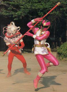 Houou Ranger from Gosei Sentai Dairanger.