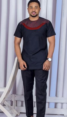 You love stylish wears like this and you want some for yourself? You love being in fashion making money and you don& know how to get started? African Wear Styles For Men, African Shirts For Men, African Dresses Men, African Attire For Men, African Clothing For Men, Latest African Fashion Dresses, African Print Fashion, African Prints, Nigerian Men Fashion