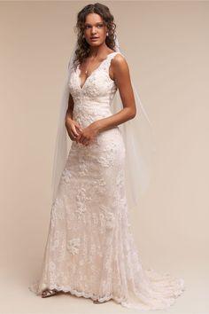 BHLDN Eliana Gown in  Bride Wedding Dresses | BHLDN