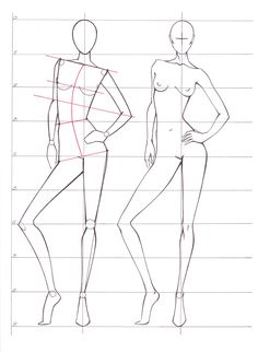 Fashion Figure Drawing, Fashion Model Drawing, Fashion Design Drawings, Fashion Sketches, Fashion Illustration Template, Hair Illustration, Mannequin Drawing, Cartoon Body, Croquis Fashion
