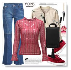"""""""Yoins 28"""" by lila2510 ❤ liked on Polyvore featuring Alexander McQueen, Marc Jacobs, yoins, yoinscollection and loveyoinsJoin"""
