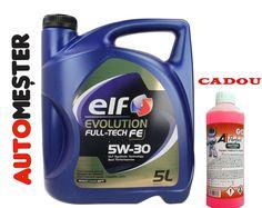 🎁Profita si tu de luna cadourilor!  La comanda uleiului ELF EVOLUTION FULL TECH FE 5W30 5L primesti CADOU 1L de antigel G12!🚘🚗🚖