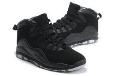 af62d7cb558 Air Jordan Retro 10 Black  White Stealth Grey Outsole The Rotation Will we  cleaned before shipped Jordan Shoes