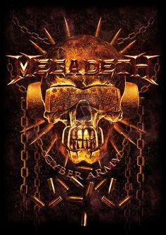 MEGADETH - Official Fan Club 2013 TS contest by stan-w-d ...