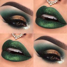 Retro Makeup Blue Eyeshadow beyond Makeup Game On Point that Makeup Brush Set Fr. Green Eyeshadow Look, Makeup For Green Eyes, Eyeshadow Looks, Makeup Eyeshadow, Eyeshadow Palette, Simple Eyeshadow, Eyeshadows, Day Makeup Looks, Makeup Looks For Brown Eyes
