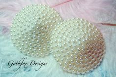 Couture Pearl Burlesque Pasties- so adorable
