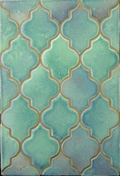 Arabesque shape tile #1