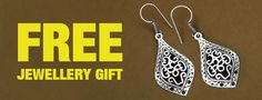 Go johareez jewellery shopping to Get Your Free Jewellery Gift Upon Placing Your First Order With johareez.com