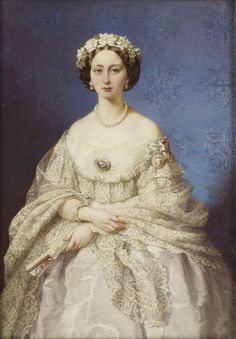Princess Alice,  daughter of Queen Victoria. Mother of Alexandra and Elizabeth,  both of whom were murdered by the Bolshiviks in Russia.  Great grandmother of Prince Philip
