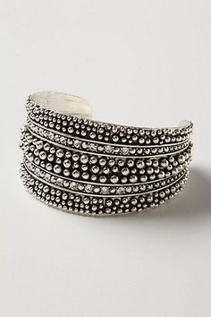DIY Beaded Cuff Bracelet