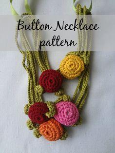 Hey, ho trovato questa fantastica inserzione di Etsy su https://www.etsy.com/it/listing/177874565/crochet-pdf-pattern-button-necklace