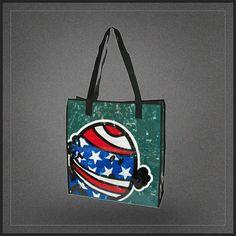 Sac shopping Monsieur Malchance Mister Bump, un très chouette sac cabas idéal en sac de courses pour les fans des Mr Men and Little Miss.