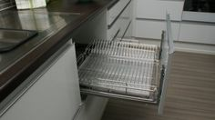 Dish drying drawer - drawer instead of laying dishes on counter to dry