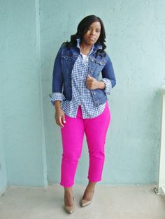 Curves and Confidence | Inspiring Curvy Women One Outfit At A Time: Fancy Pants