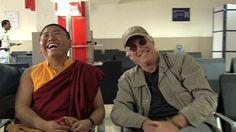 Tsoknyi Rinpoche and Richard Gere  When the Iron Bird Flies