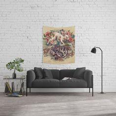 Dust Bunny Wall Tapestry by kateoharaillustration | Society6