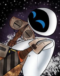 For E.  As always.   I'm sorry. WALL·E illustrated by Vivienne Medrano :: via vivzmind.deviantart.com