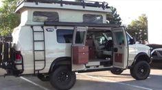Sportsmobile 4x4 camper van :SEMA Show Las Vegas US$60K - $80K