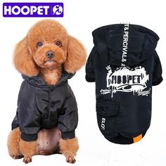 Pet Warm Cotton Jacket Coat Hoodie Puppy Winter Clothes Tag a friend who would love this! Visit our store