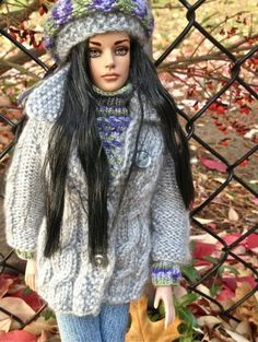 "#pinned new to dollduels.com ""Shades of Autumn: Sydney repaint"" by Renee Fabrizio #dollchat ^kv"