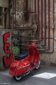 Vespa GTR in Rosso Corallo, O-Lack/Originallack, mit Km, Jg. Vintage Vespa, Lambretta Scooter, Vespa Scooters, Triumph Motorcycles, Custom Motorcycles, Ducati, Mopar, Vespa Excel, Vespa Tuning