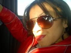 Rocking it Red! Rock, Sunglasses, Day, Fashion, Moda, Fashion Styles, Skirt, Locks, The Rock