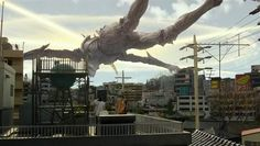 Watch Studio Ghibli's live action Giant God Warrior Appears In Tokyo