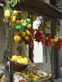 Traditional stall in Sorrento, Italy