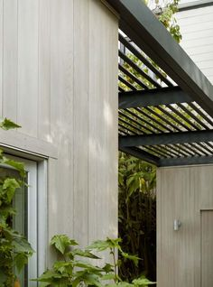 Pergola, Potrero House, Cary Bernstein Architect