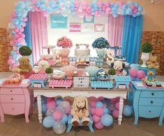 Baby Shower Games, Baby Boy Shower, Baby Shawer, Baby Girls, Gender Reveal Decorations, Baby Gender Reveal Party, Party Bags, Reveal Parties, Diy For Girls