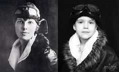 Strong REAL Females to Aspire (and dress up as) - Amelia Earhart, Jane Goodall, Helen Keller, Coco Chanel, Susan B. Anthony