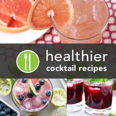 5 #HEALTHY SUMMER #COCKTAIL #RECIPES