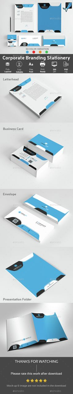 Corporate Letterhead Letterhead, Letterhead design and - corporate letterhead