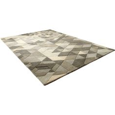 Facets Sage Rug (€585) ❤ liked on Polyvore featuring home, rugs, fondos, patterned rugs, contemporary geometric rug, contemporary rugs, sage rug and modern contemporary rugs