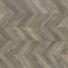 Quick-Step Reclaime x x 12 mm Gris Laminate Flooring Color: Parusian Chevron Reclaimed Hardwood Flooring, Wood Laminate, Basement Remodel Diy, Basement Renovations, Basement Designs, Basement Ideas, Basement Decorating, Basement Storage, Houses