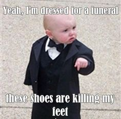 Not everyone likes shoes.