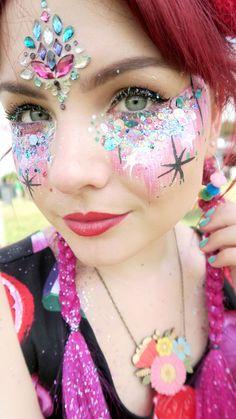 Paige Joanna festival make up the gypsy shrine