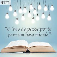 """Hoje, 29/10, é o Dia Nacional do Livro. Como disse Mário Quintana, """"livros são, decerto, uma dupla delícia, afinal o livro traz a vantagem de a gente poder estar só e ao mesmo tempo acompanhado"""". A leitura abre a mente, proporciona novas ideias, descortina cenários desconhecidos. Viajar através dos livros é uma excelente oportunidade de aprendizado. Qual livro você recomenda. #livros #amoLivros #diaNacionalDoLivro #leiaMais Inspirational Quotes, Printables, Books, Home Decor, National Book Day, Inspiring Messages, Emotional Intelligence, Bible Studies, Wise Words"""