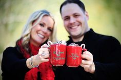 All I want for Christmas...is you! ♥  #ChristmasCardPhotos #ChristmasCard #Christmas #Family #FunPhotos #HotChocolate #Festive Styled by @Sparkling Events by Alison Johnson