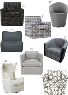 Designer Swivel Chairs For Living Room Pleasing The Final Choice In A Denim Blue And Ivory Printso Nice For Review