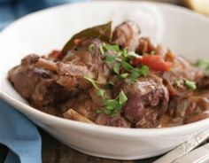 Stifado - rabbit stew