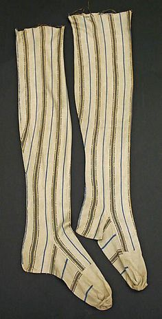 18th century silk stockings