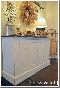 Entryway dresser how to