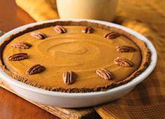 Tarte à la citrouille sur biscuits au gingembre | Recettes | Mon assiette | Plaisirs Santé