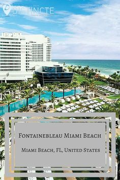 Fontainebleau Miami Beach is truly enormous—as in 1,504 guestrooms enormous. The modern, tech-savvy rooms (all have iMacs) are spread among four towers: 846 rooms and suites in the two original buildings and 658 suites in two new all-suite towers. The entry-level rooms are fine, especially if you get an ocean view, but we recommend reserving any category of suite. #Distincte #travel