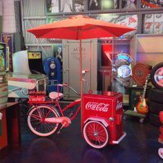 Vintage Huffy Coca Cola Cooler Trike Contemporary Bicycle | eBay