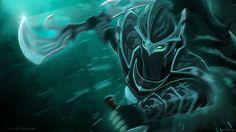 Stylish phantom assassin dota 2 art 78 HD Anime Wallpaper « Kuff Games